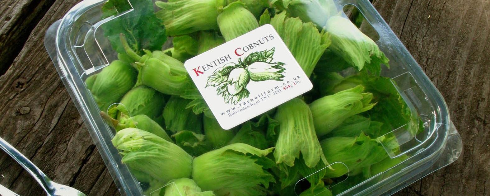 Kentish Cobnuts - We sell seasonal fresh Cobnuts, and dehusked Cobnuts.
